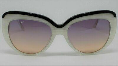 L.A.M.B. LA530 Gwen Stefani's Designer Sunglasses color: Bone Case Included