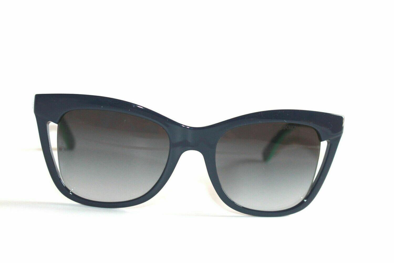 Authentic Women's Emporio Armani EA4088 Blue/Green Free Leather case cloth box