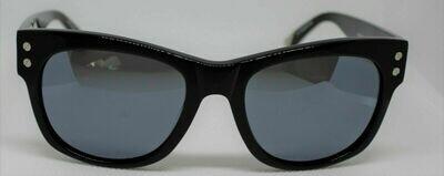 L.A.M.B. LA512 Gwen Stefani's Designer Sunglasses BLACK Case & Cloth included