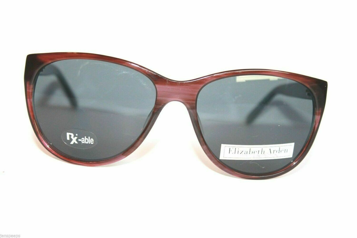 Authentic New Elizabeth Arden 5186 Sunglasses in Purple Horn Sunwear