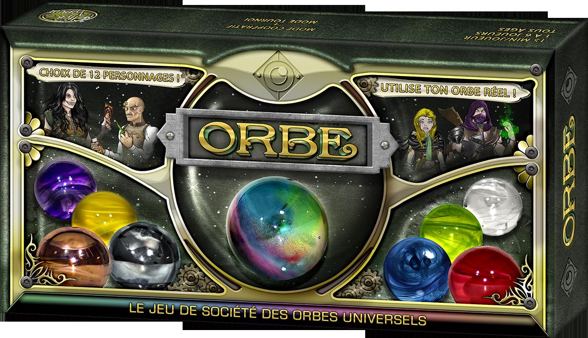 Orbe, le jeu de société