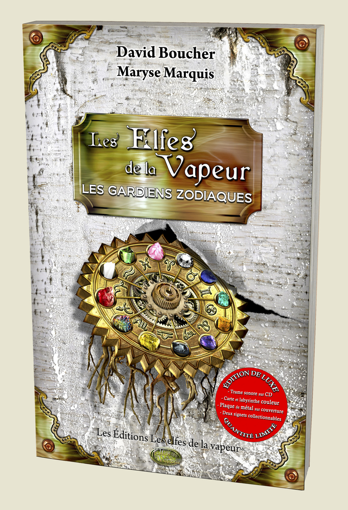Tome 2: Les gardiens zodiaques, édition de luxe