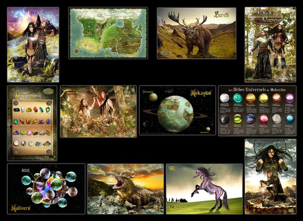 Affiches variées 11x17