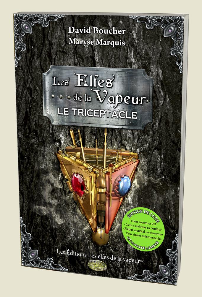 Tome 3: Le Triceptacle, édition de luxe