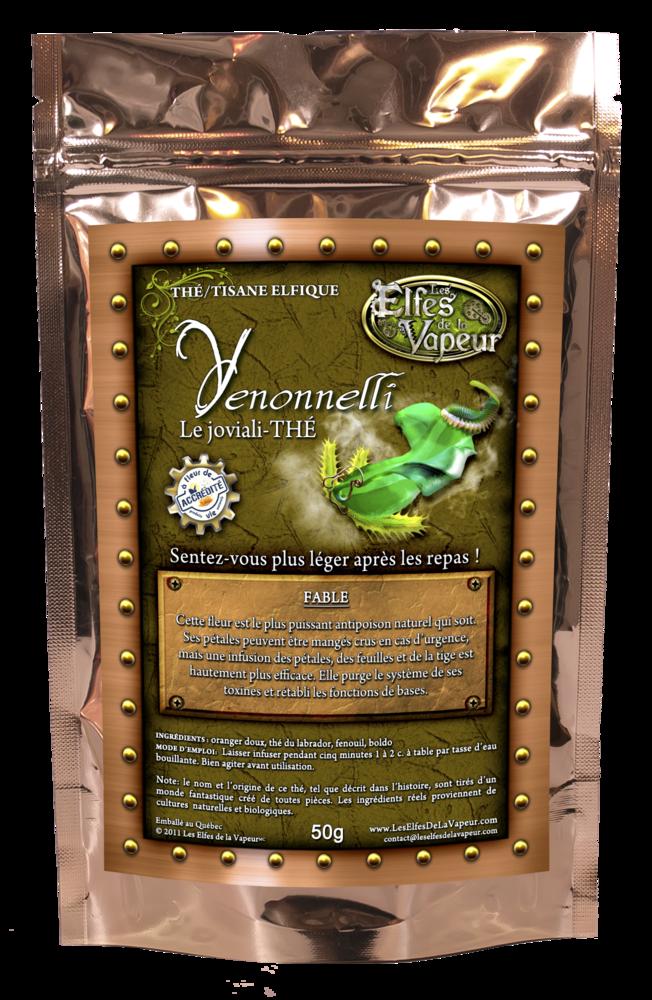 Venonnelli: le joviali-thé