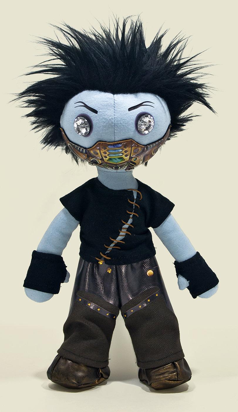 Damien, la poupée de chiffon