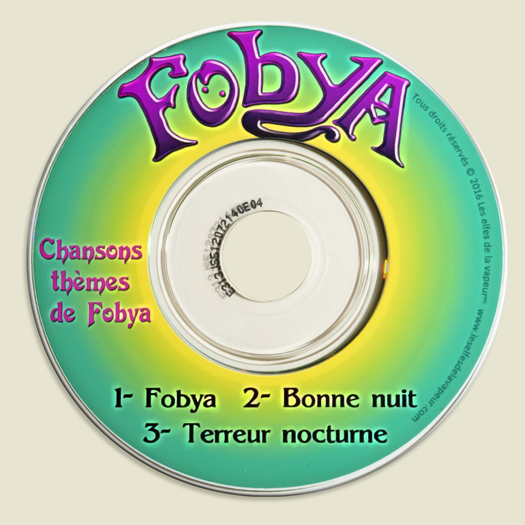 mini CD musical de Fobya