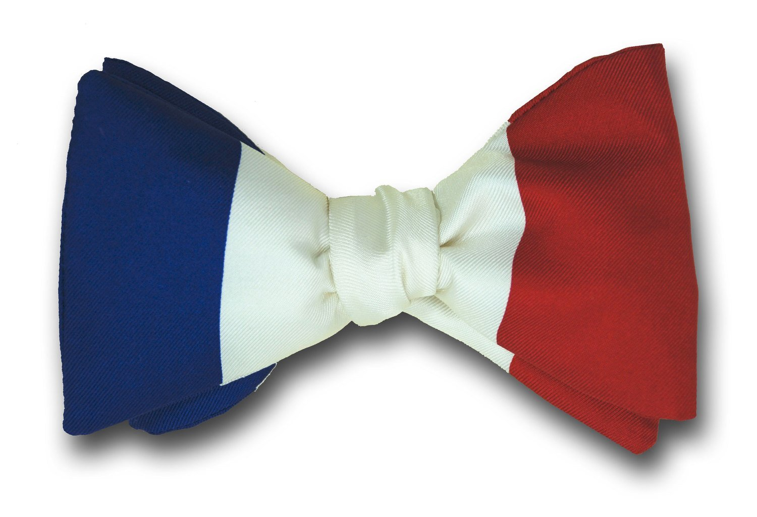 daaa2489ba31 French Le Tricolore Flag Bowtie Flag of France Silk Bow Tie