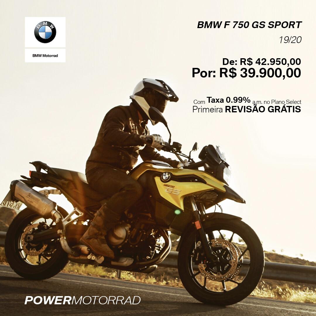 BMW F 750 GS SPORT 19/20