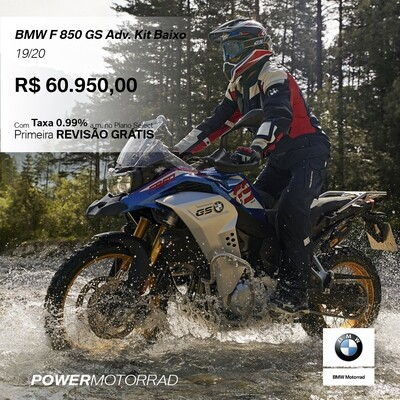 BMW F850 GS 19/20 Adv. Kit Baixo