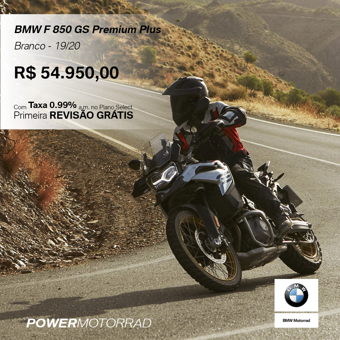 BMW F850 GS PREMIUM PLUS 19/20