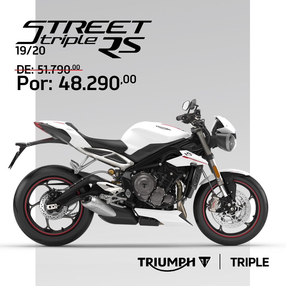 TRIUMPH STREET TRIPLE RS 19/20