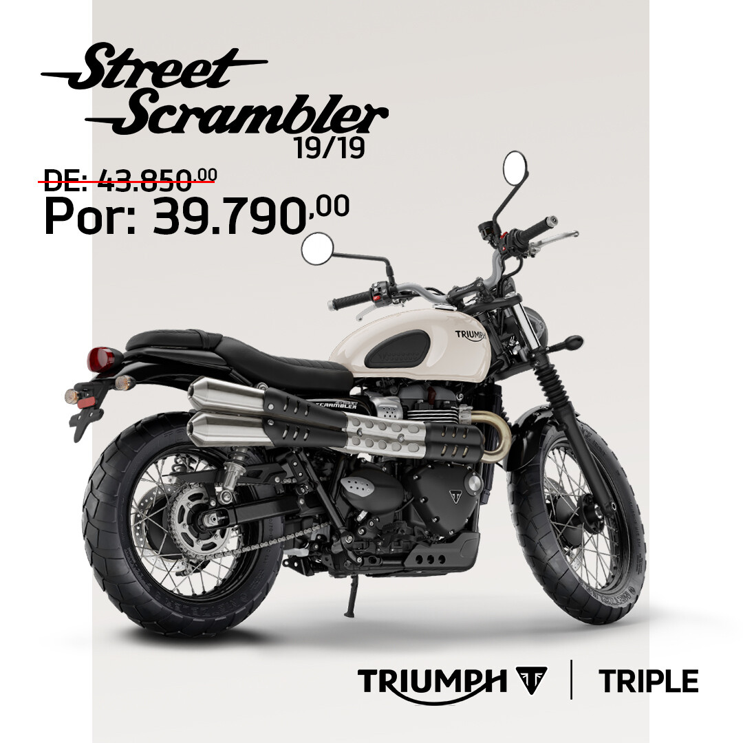 TRIUMPH STREET SCRAMBLER 19/19