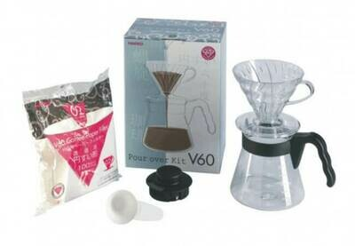 Hario V60 Pour Over Kit 02 – Black