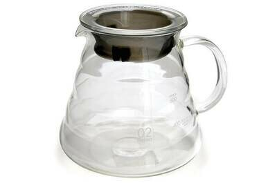 Hario – V60 Server 600ml – glass clear $22.00
