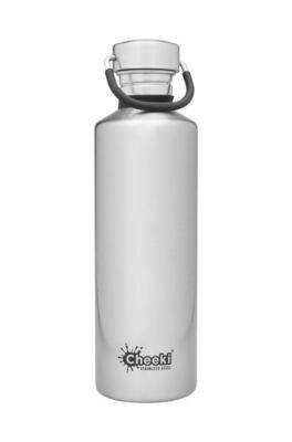 Cheeki 750ml Classic Bottle – Silver