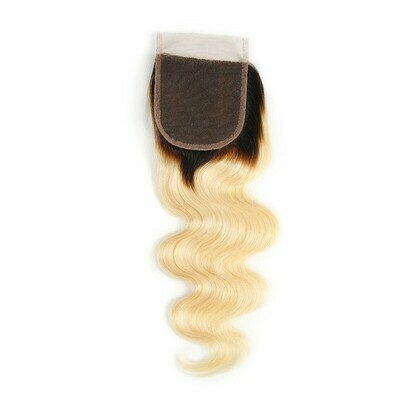 Colored Human Hair Lace Closure