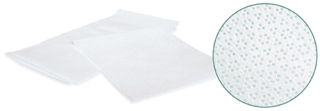 Highest quality textured lint-free wipes for