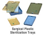 Surgical Sterilization Tray - Large Double Stack