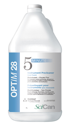 OPTIM 28 ultrasonic solution (4 Gallons /Case)