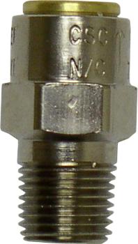 Pressure relief valve fitting for steam generator