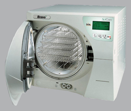 Bravo-2-21V chamber autoclave (with Data Logger)