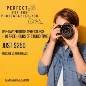 Photography Class +10 Studio Hours