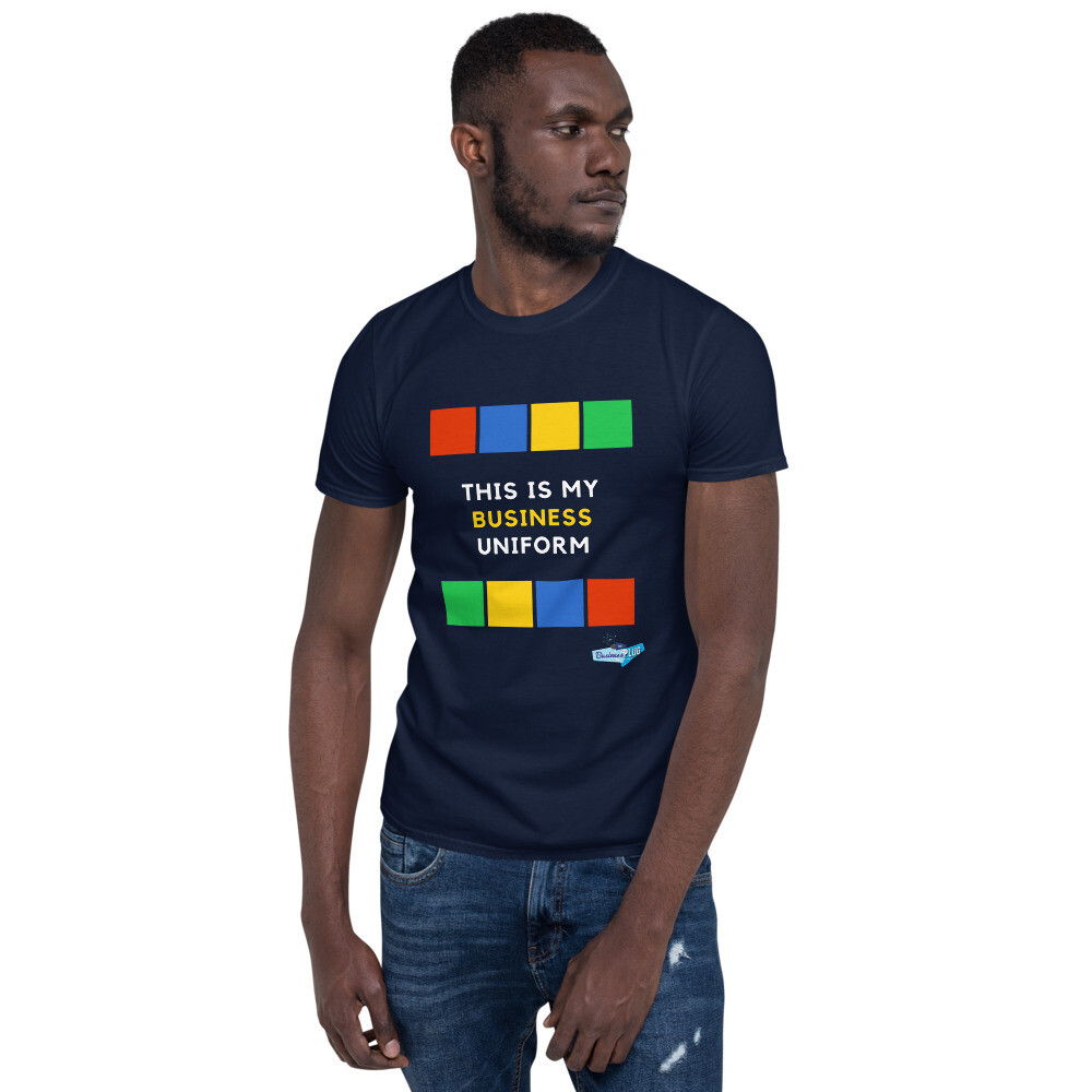 This Is My Business Uniform Short-Sleeve Unisex T-Shirt