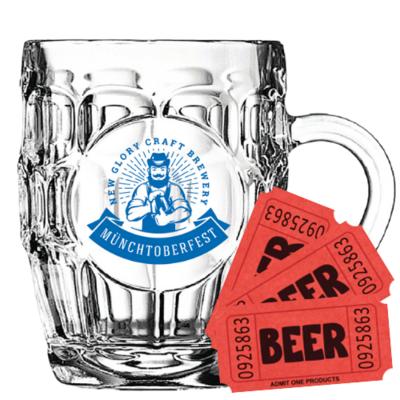 Stein + 3 Beer Tickets