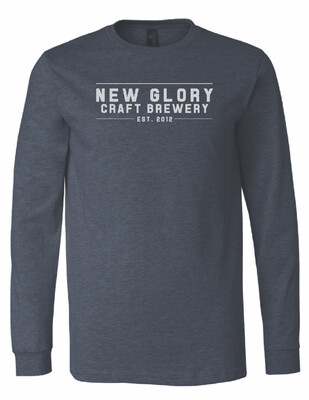 Long Sleeve Tee (Navy)