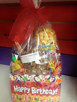 2 Piece Birthday Gift Basket