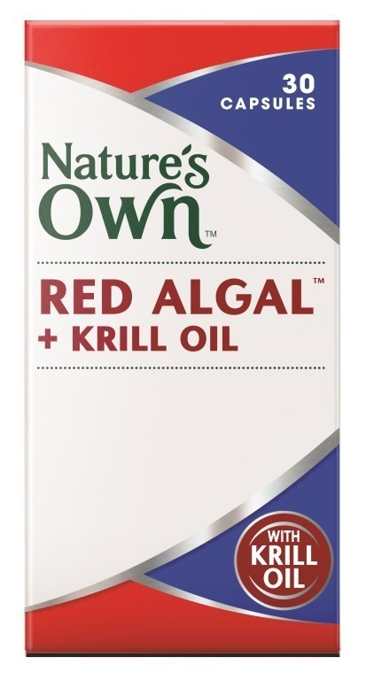 Natures Own Red Algal + Krill Oil 30s