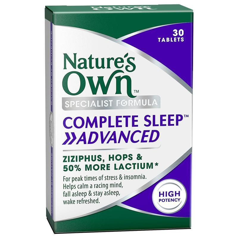 NATURE'S OWN COMPLETE SLEEP ADVANCED 30S