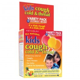 Kids Cough, Cold & Throat 12's Variety Pack