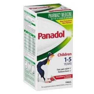 PANADOL CHILDREN 1-5 YEAR STRAWBERRY 100ML