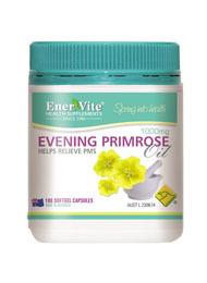 Enervite Evening Primrose Oil 1000mg 180 Caps