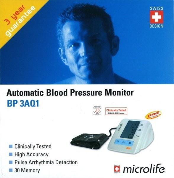 Microlife BP 3AQ1 Automatic Blood Pressure Kit
