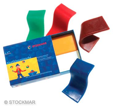 Воск для лепки Stockmar (6 цветов)