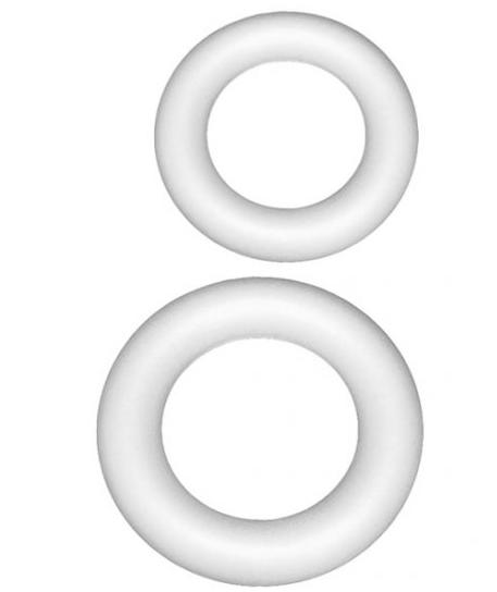 Венок объемный из пенопласта d. 15 см