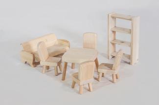 Комплект мебели для кукольного дома, Лукоморье