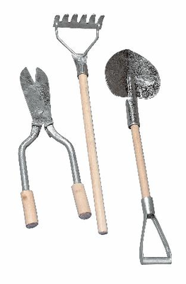 Набор садовых иструментов, 3 предмета 10 см