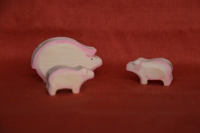 Семья свинок, Лукоморье
