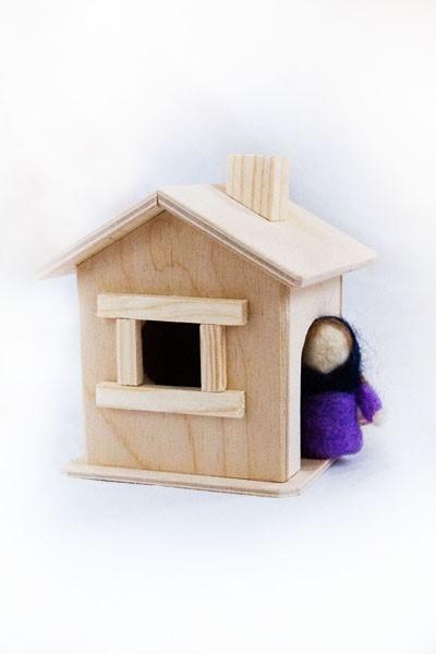 Домик-гномик для куклы