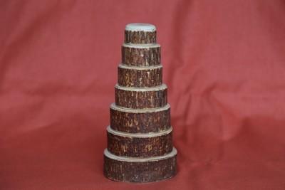 Деревянная пирамидка