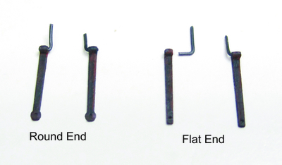 5 mm NEW Gun Port Lid Hinges Brass 3//16/'/'