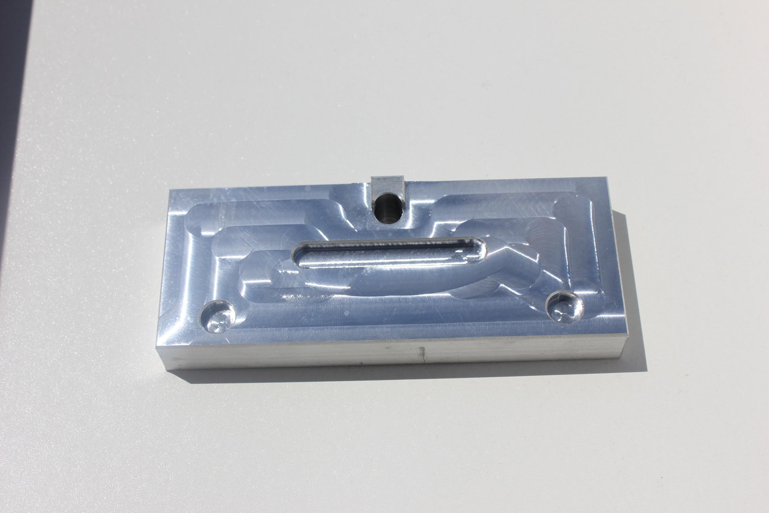 Ak 47 80 receiver - Barrel Pin Press Plate 15