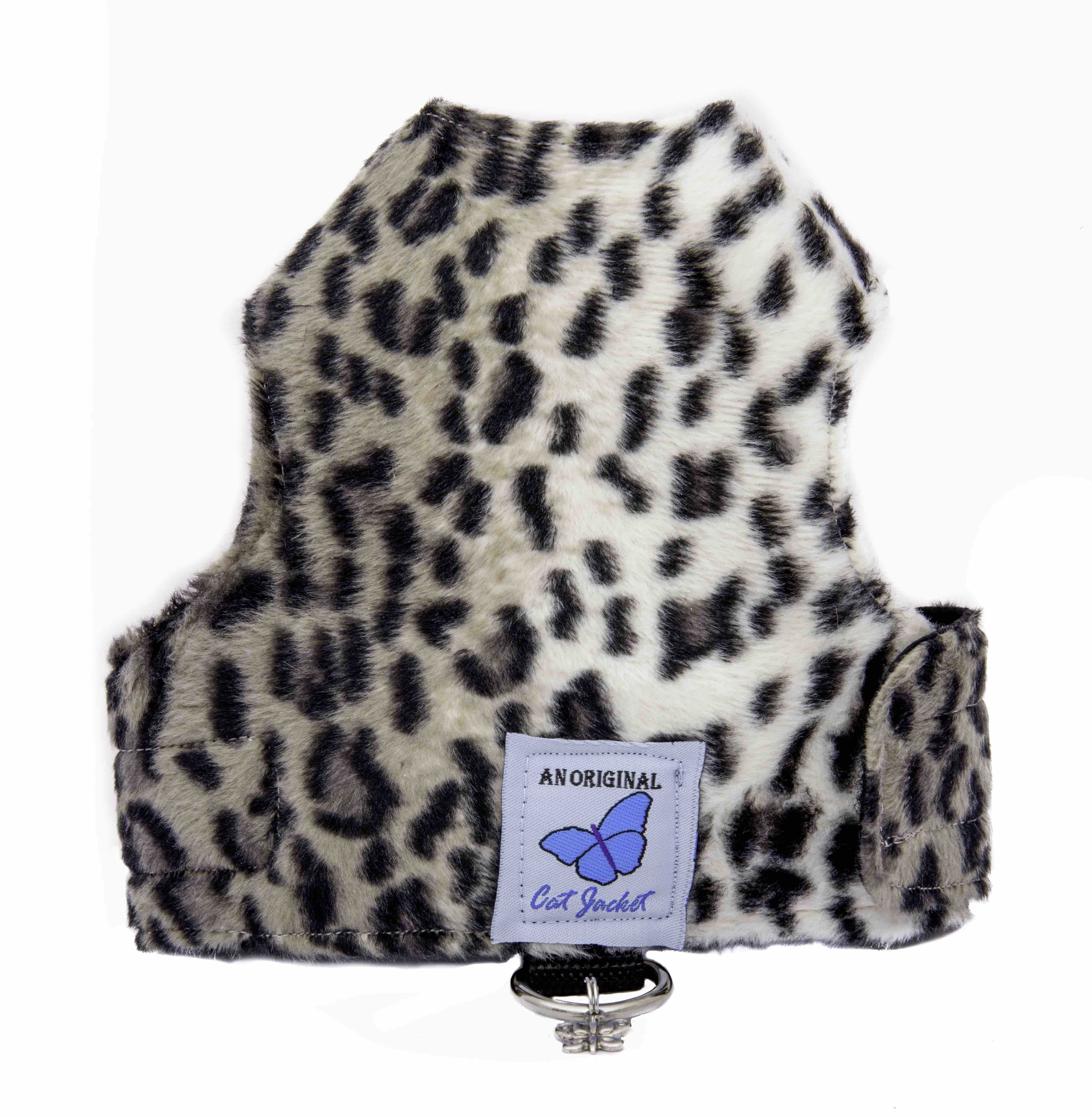 Luxury Faux Fur Snow Leopard