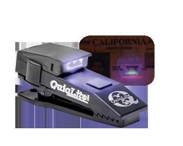 QuiqLitePro Ultraviolet I.D. Check (10 lumens 3 modes) In Stock 890161000663