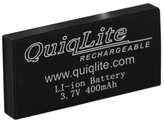 QuiqLiteX and QX2 replacement Lithium battery 890161025130
