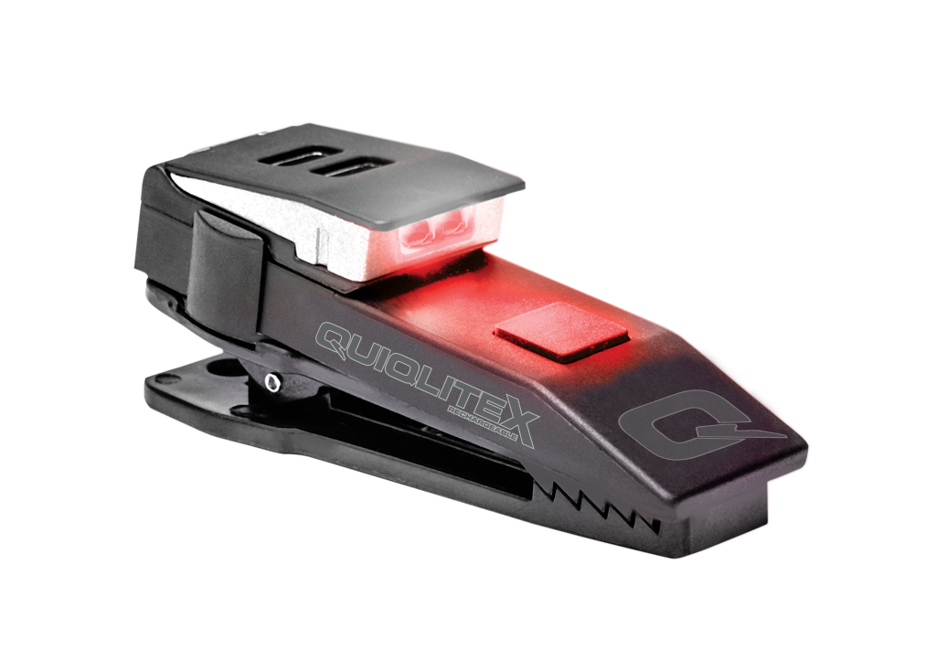 QuiqLiteX Tactical Red/White LED (USB Rechargeable) 20 up to 75 Lumens 890161025116